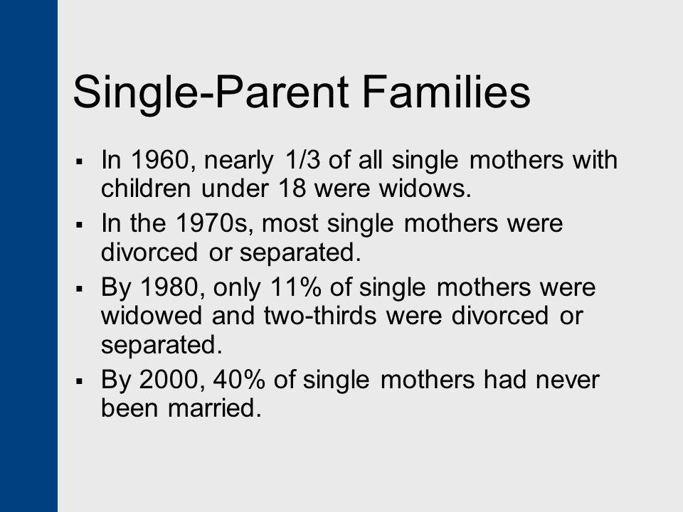 Single-Parent Families