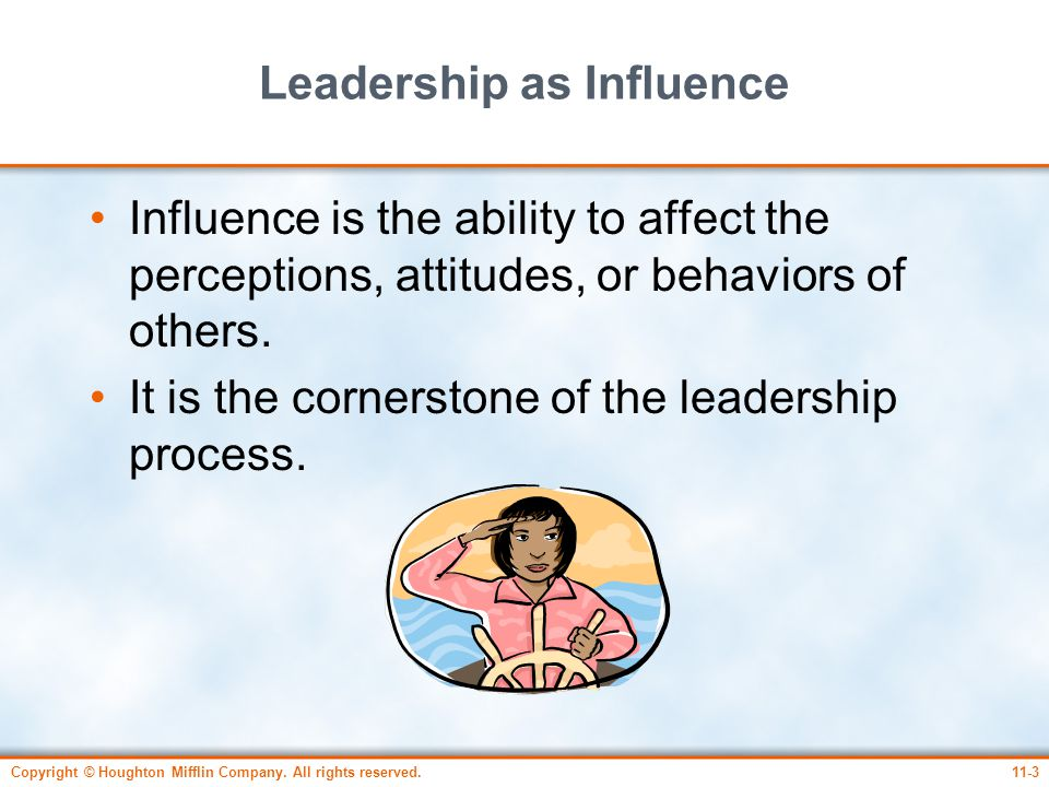 Leadership as Influence