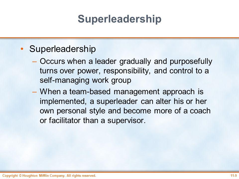 Superleadership Superleadership