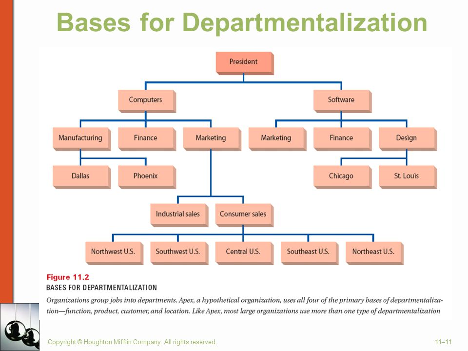 Bases for Departmentalization