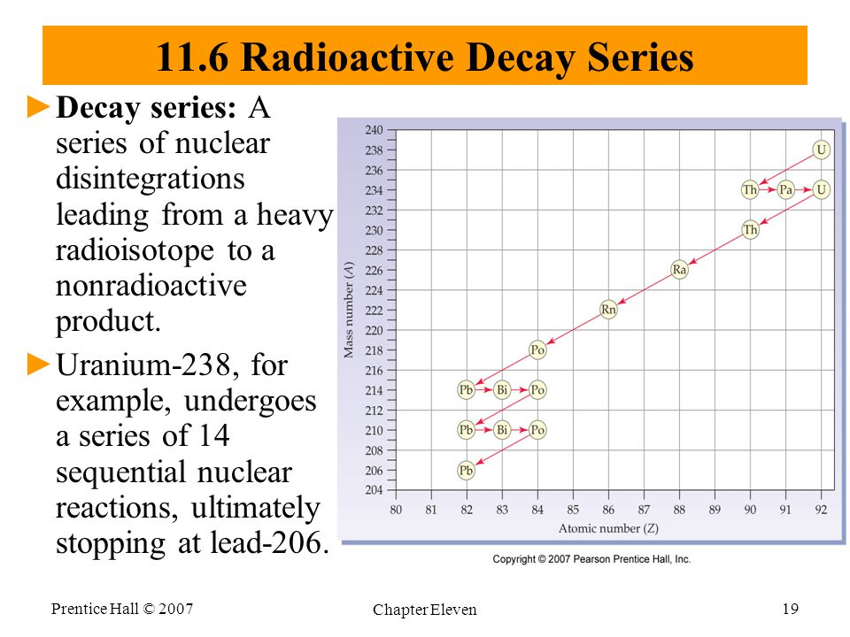 11.6 Radioactive Decay Series