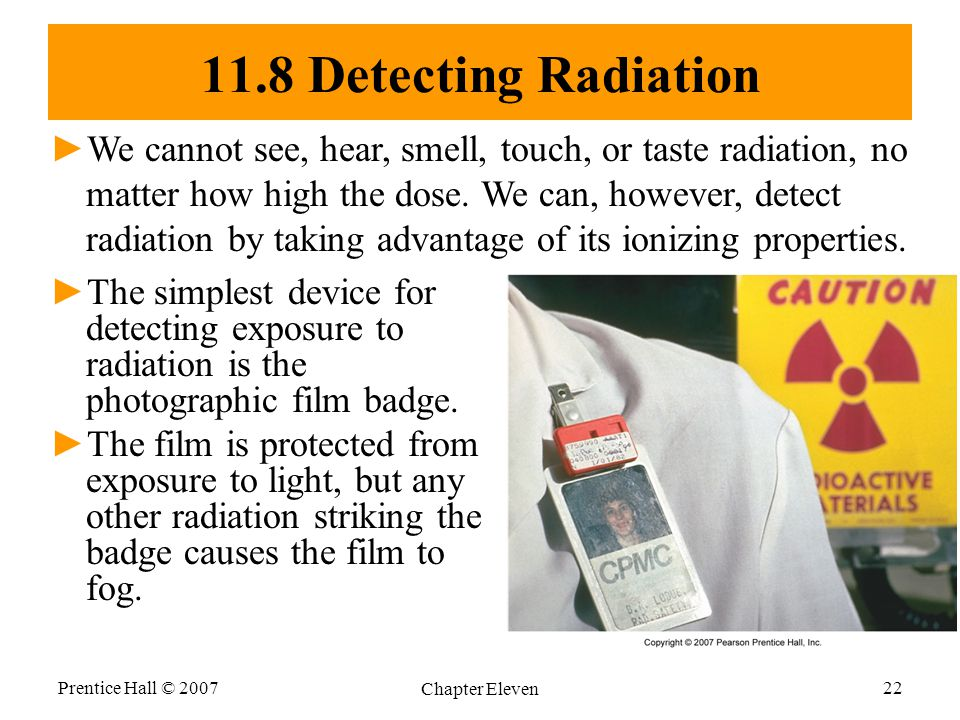 11.8 Detecting Radiation