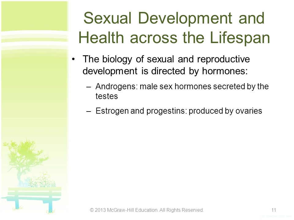 Sexual Development and Health across the Lifespan