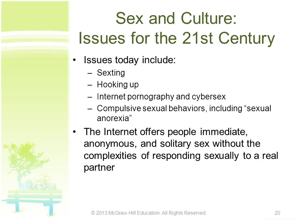 Sex and Culture: Issues for the 21st Century