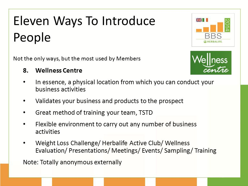 Eleven Ways To Introduce People