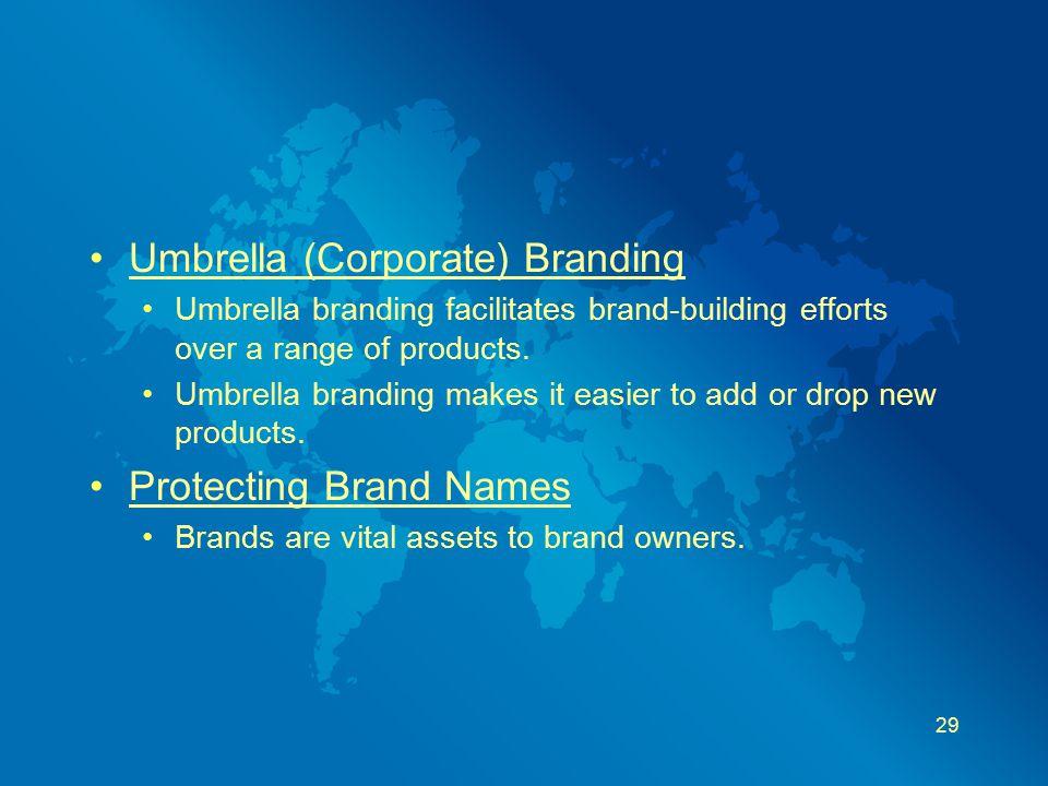Umbrella (Corporate) Branding