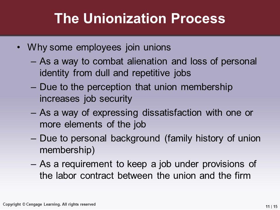 The Unionization Process