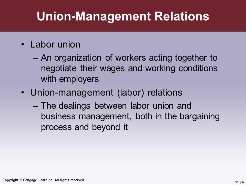 Union-Management Relations