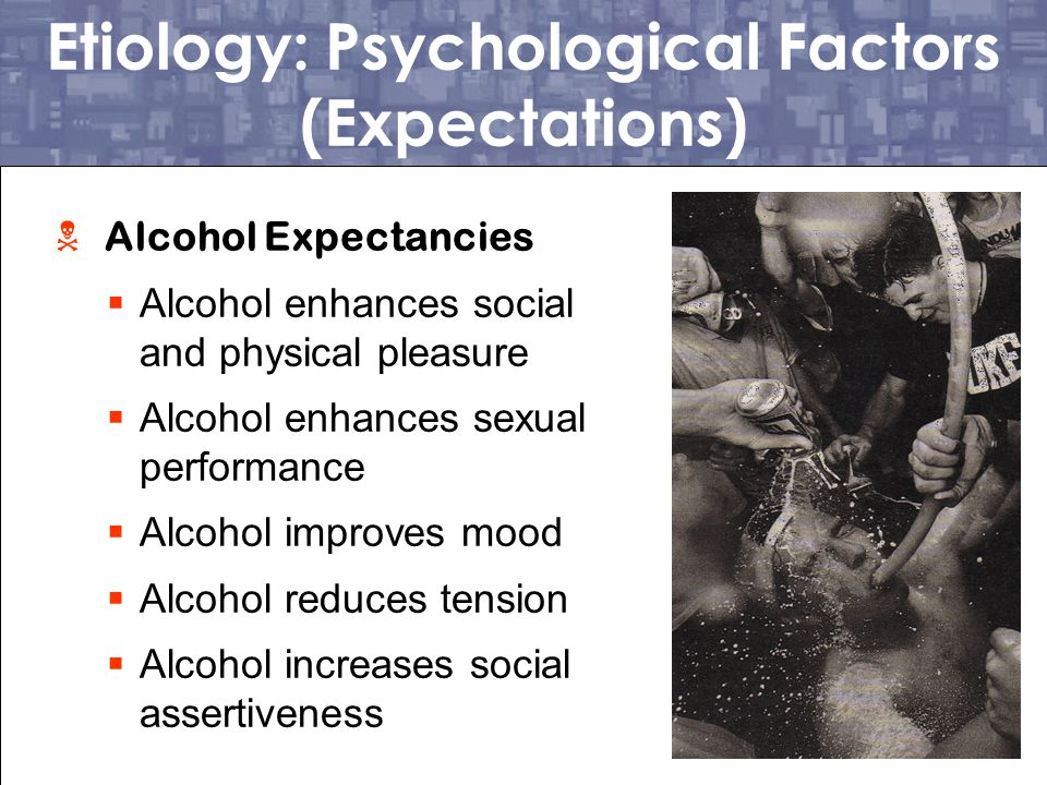 Etiology: Psychological Factors (Expectations)