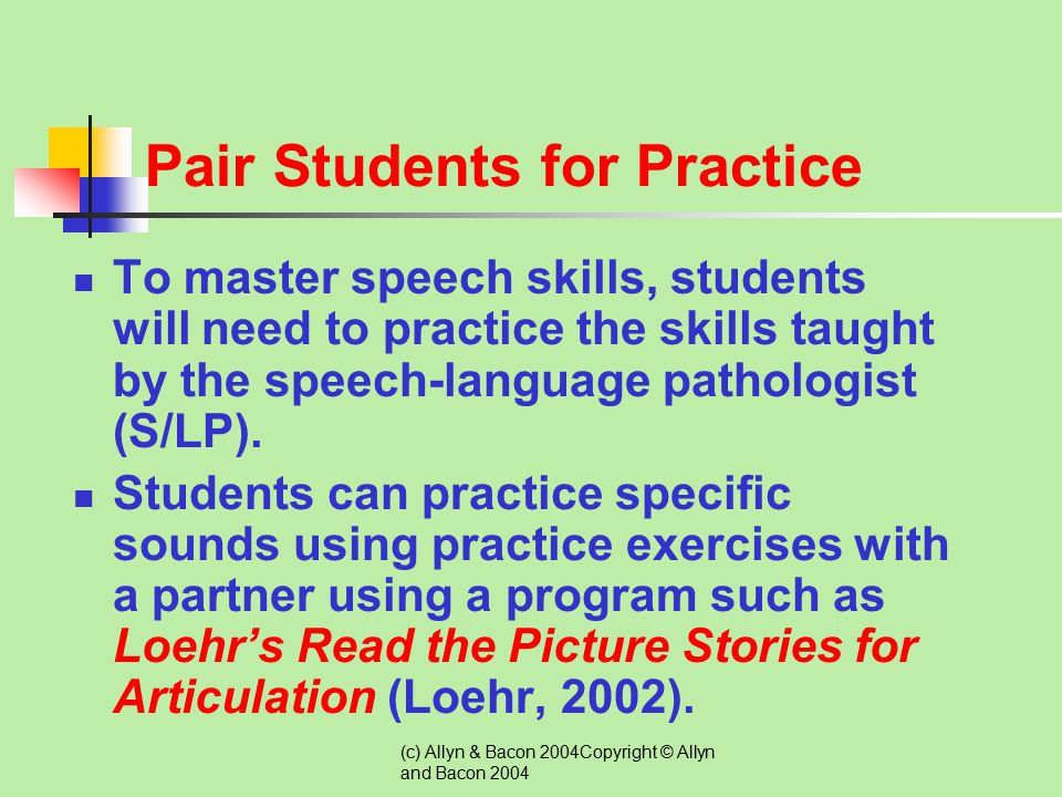 Pair Students for Practice