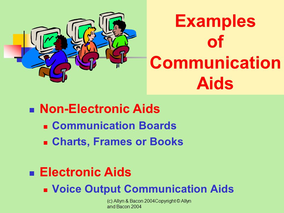Examples of Communication Aids