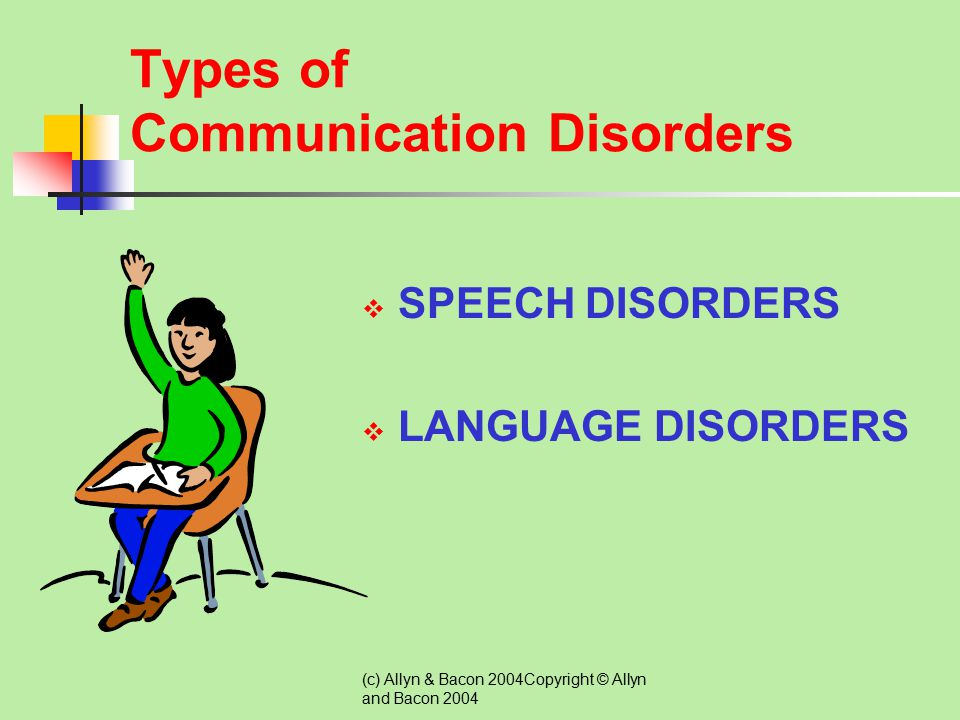 Types of Communication Disorders