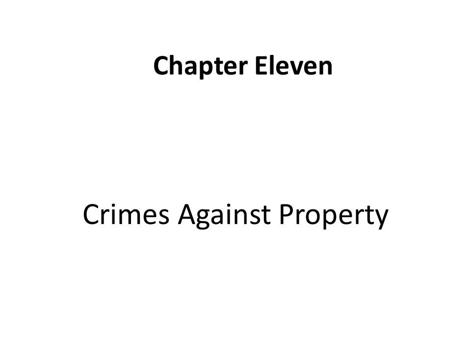 crimes against property Crimes against property occur when someone's property is stolen or destroyed these include arson, theft, vandalism, and many white collar crimes.