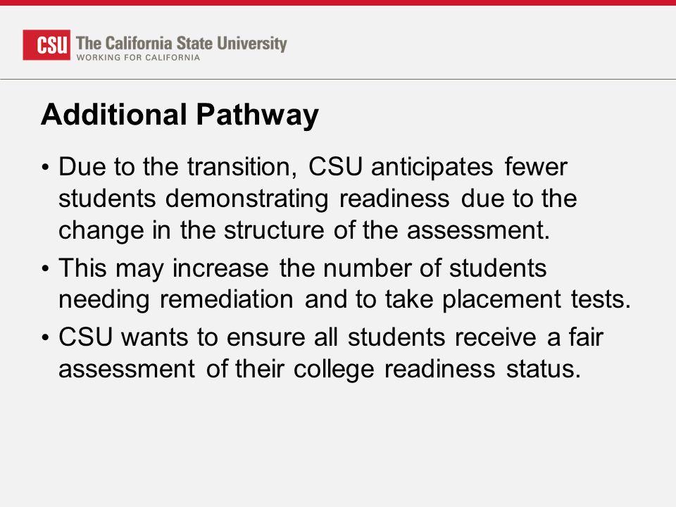 Additional Pathway