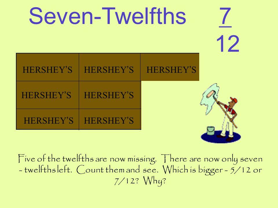 Seven-Twelfths 7 12 HERSHEY'S HERSHEY'S HERSHEY'S HERSHEY'S HERSHEY'S
