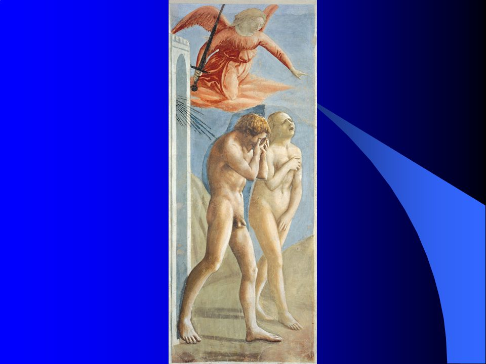 12. 5 Masaccio, Expulsion of Adam and Eve from Eden, c. 1425