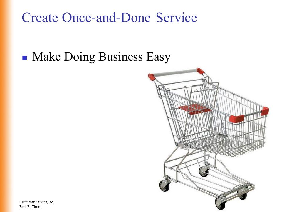 Create Once-and-Done Service