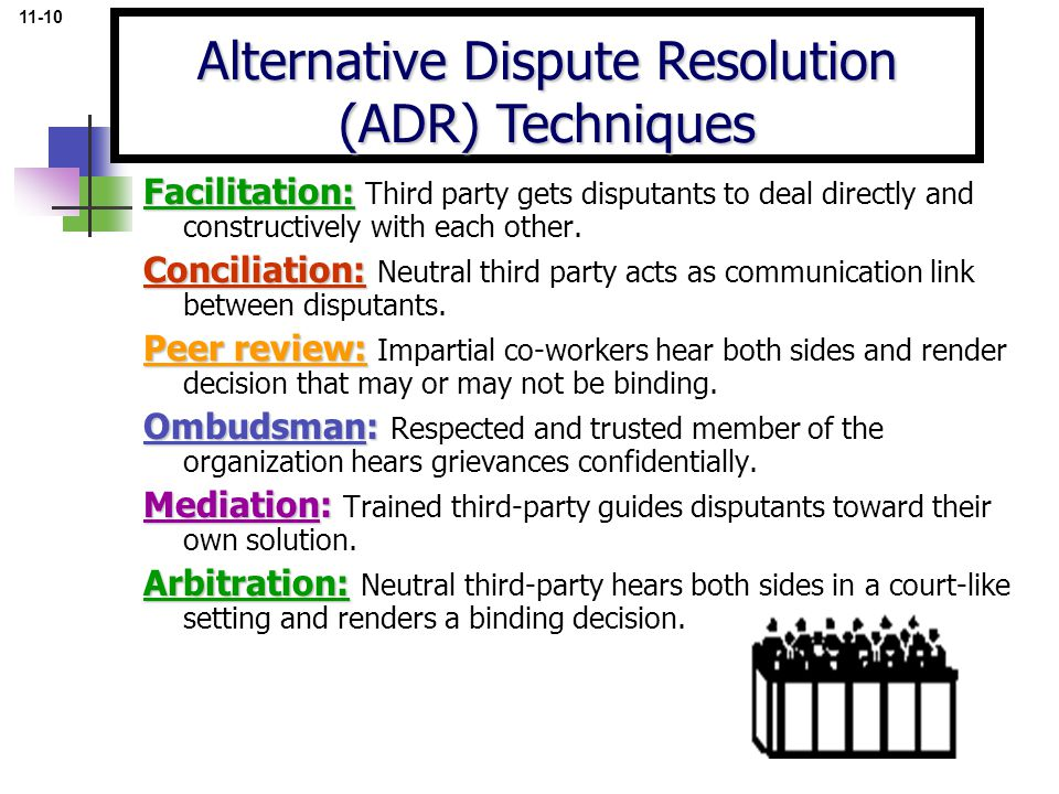 Alternative Dispute Resolution (ADR) Techniques