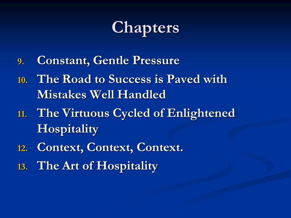 Chapters Constant, Gentle Pressure