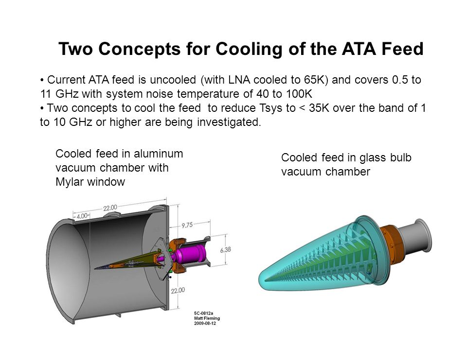 Two Concepts for Cooling of the ATA Feed
