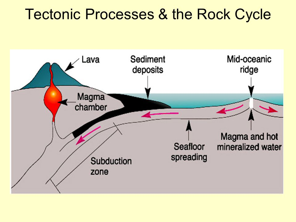 Tectonic Processes & the Rock Cycle