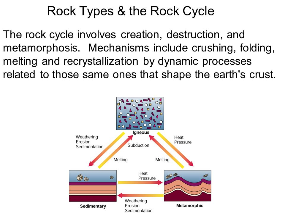 Rock Types & the Rock Cycle