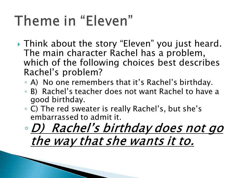 Theme in Eleven