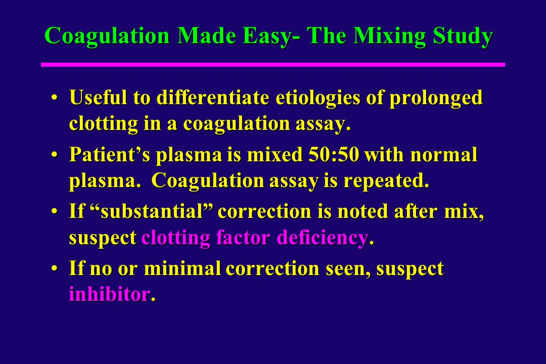 Coagulation Made Easy- The Mixing Study