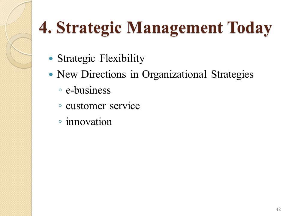 4. Strategic Management Today
