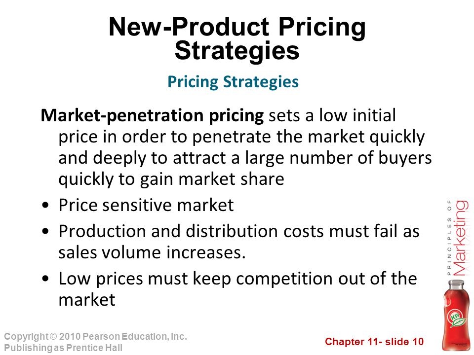 Penetration price strategy very
