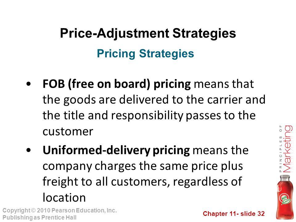 Price-Adjustment Strategies