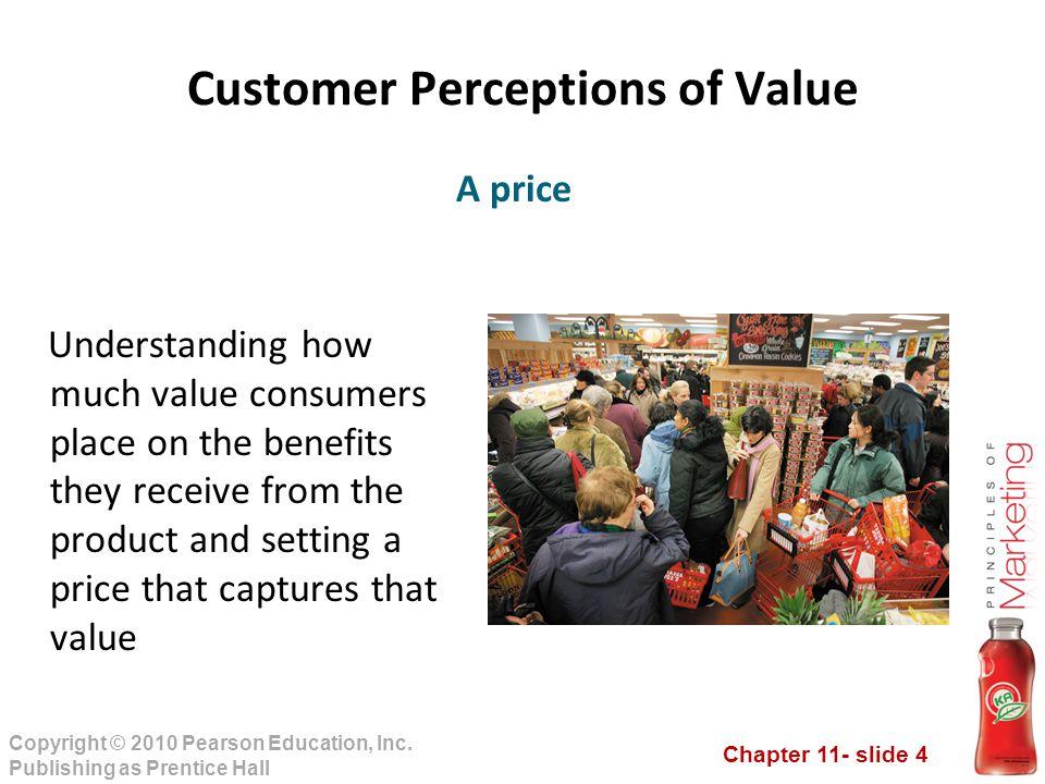 Customer Perceptions of Value