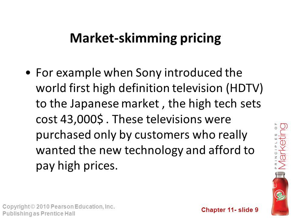 Market-skimming pricing