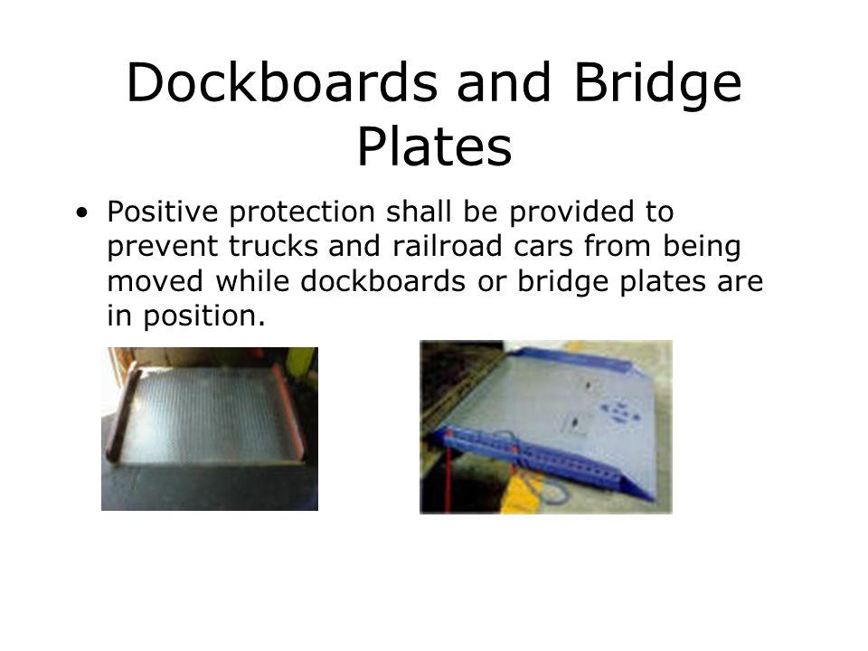 Dockboards and Bridge Plates