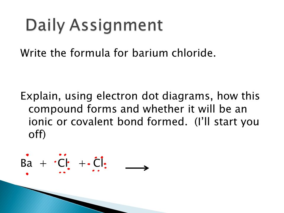 Calcium Chloride Molecular Structure CHAPTER SIX (6) Chemic...