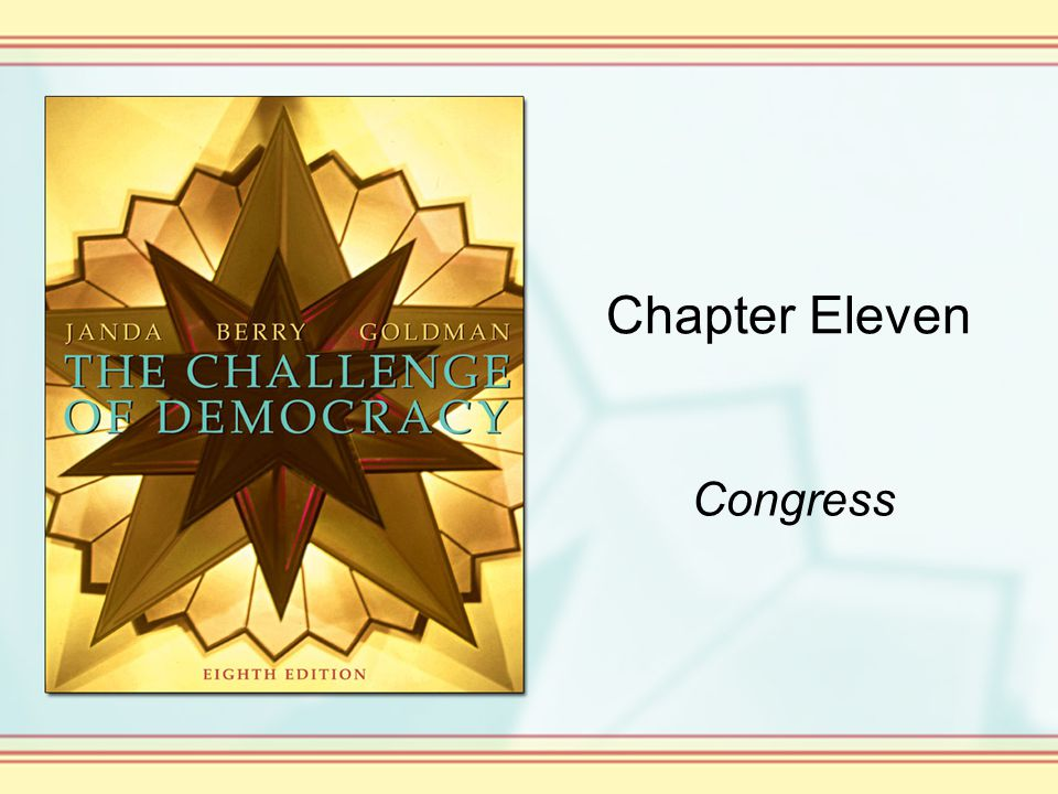 Chapter Eleven Congress