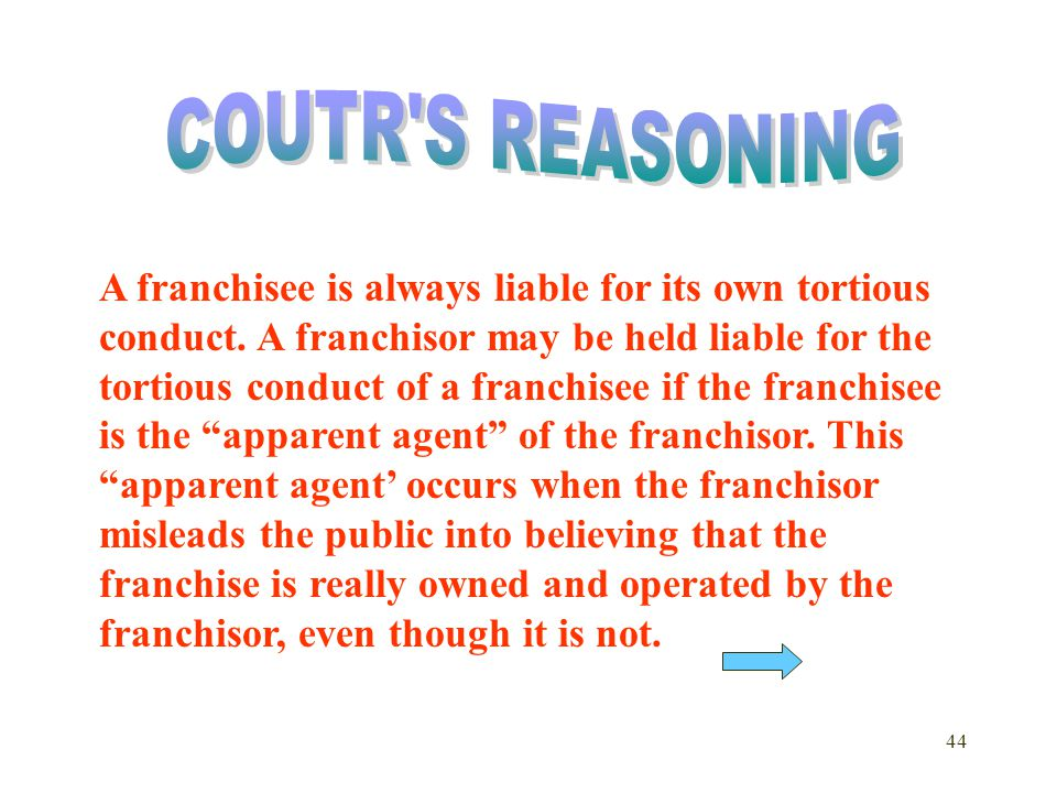 COUTR S REASONING