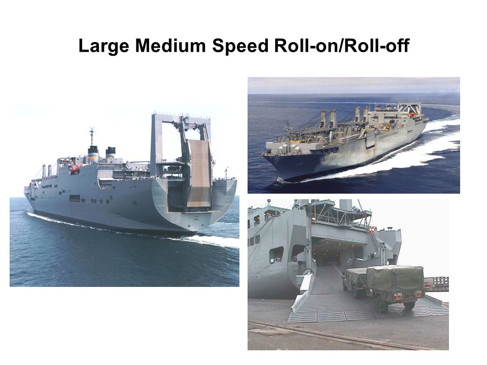 Large Medium Speed Roll-on/Roll-off