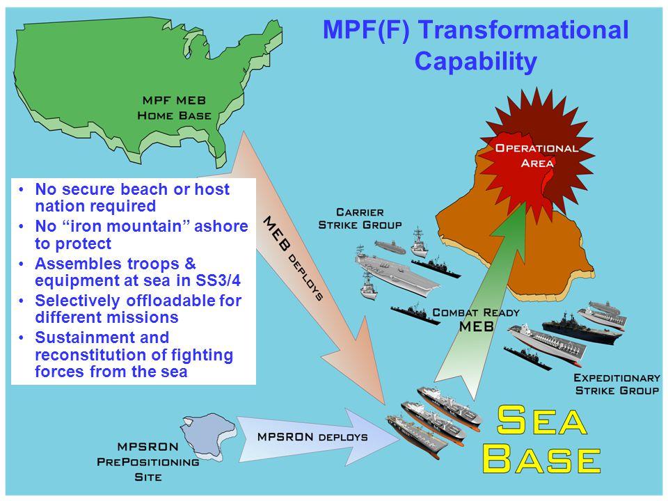 MPF(F) Transformational Capability