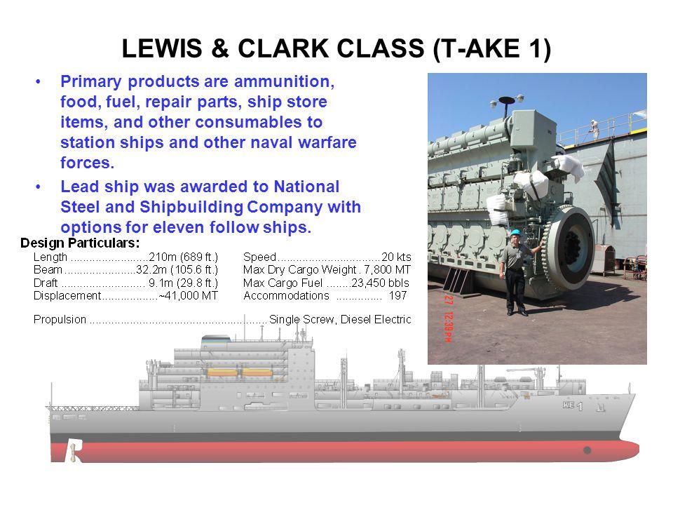 LEWIS & CLARK CLASS (T-AKE 1)