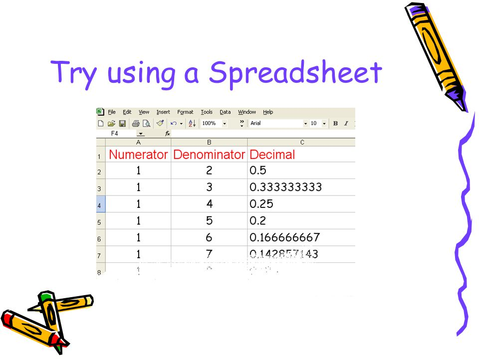 Try using a Spreadsheet