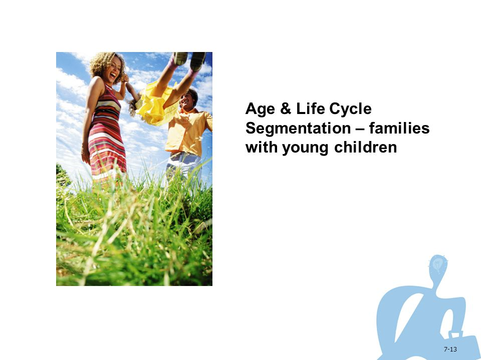 Age & Life Cycle Segmentation – families with young children