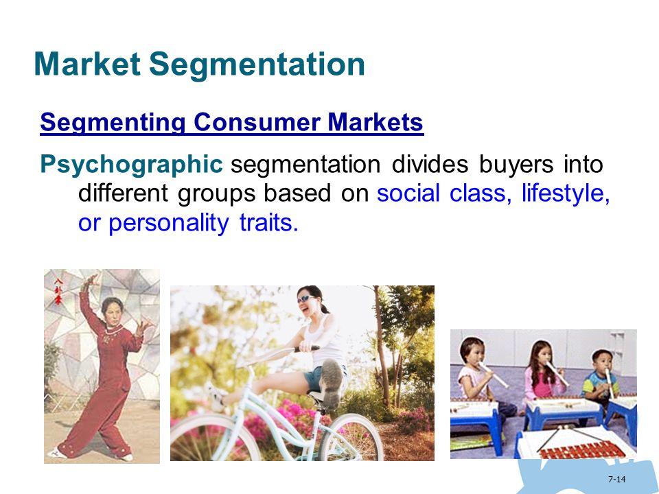 Market Segmentation Segmenting Consumer Markets