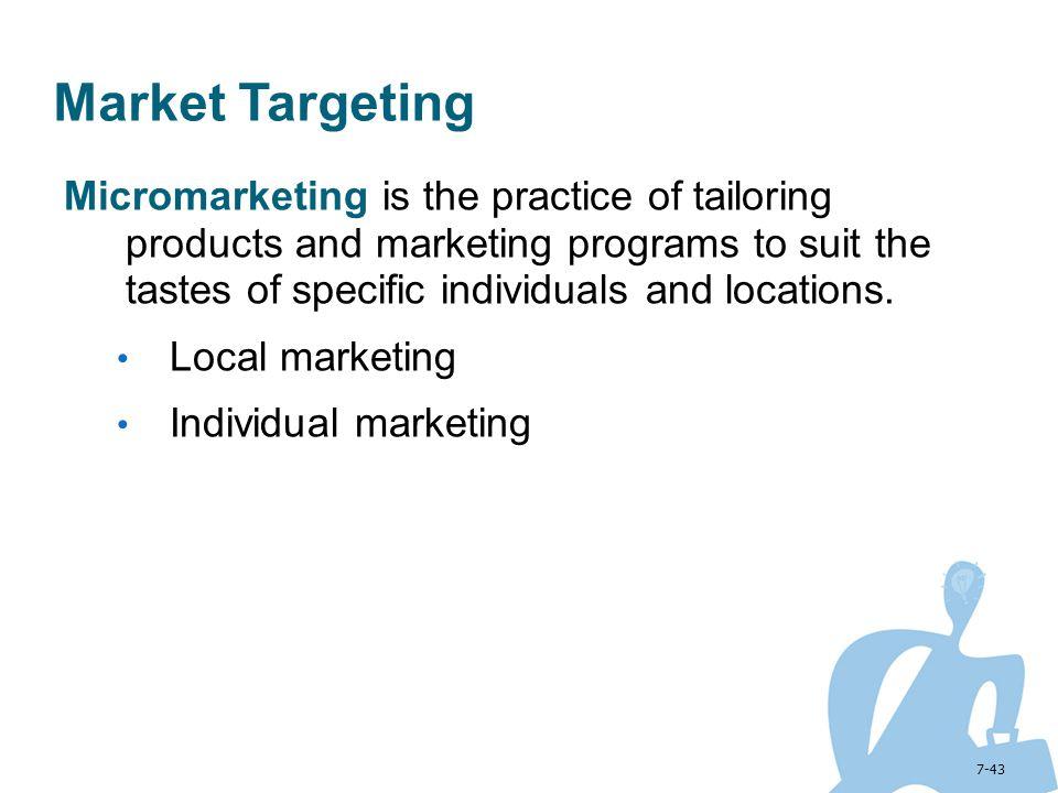 Market Targeting