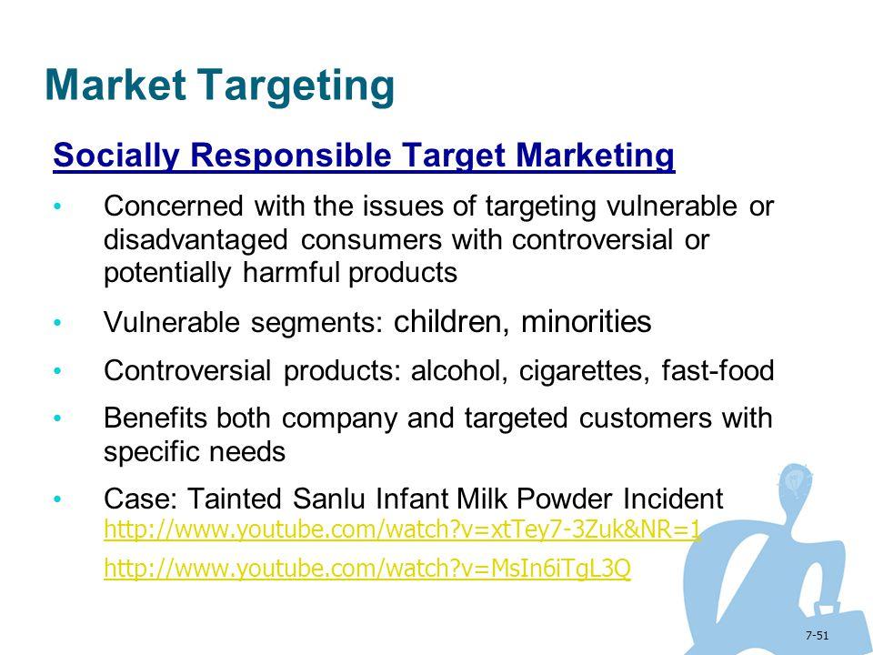 Market Targeting Socially Responsible Target Marketing