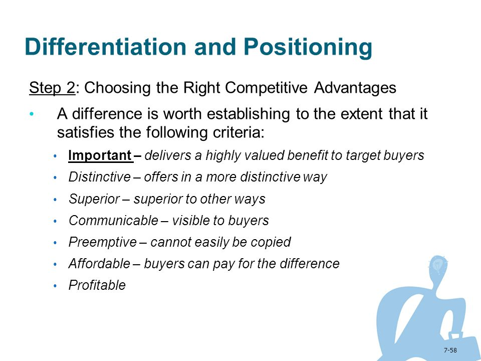 Positioning & Differentiation Strategies of Marketing