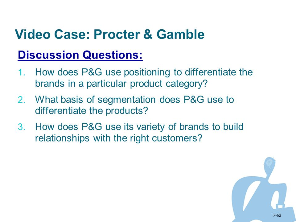 Video Case: Procter & Gamble