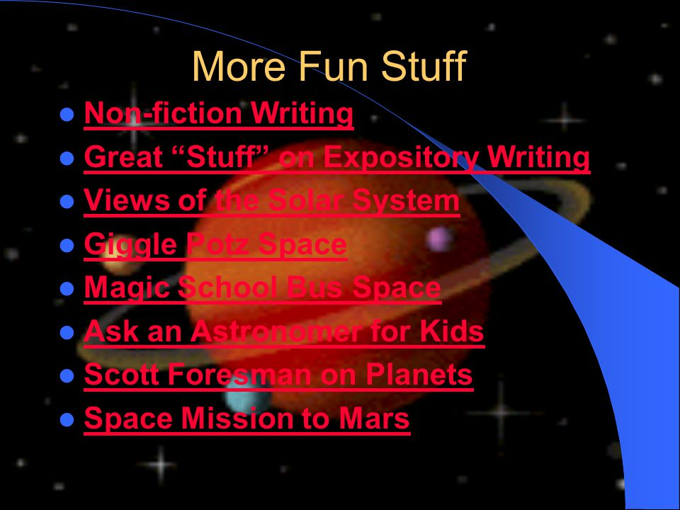 More Fun Stuff Non-fiction Writing Great Stuff on Expository Writing