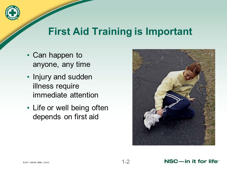First Aid Training is Important