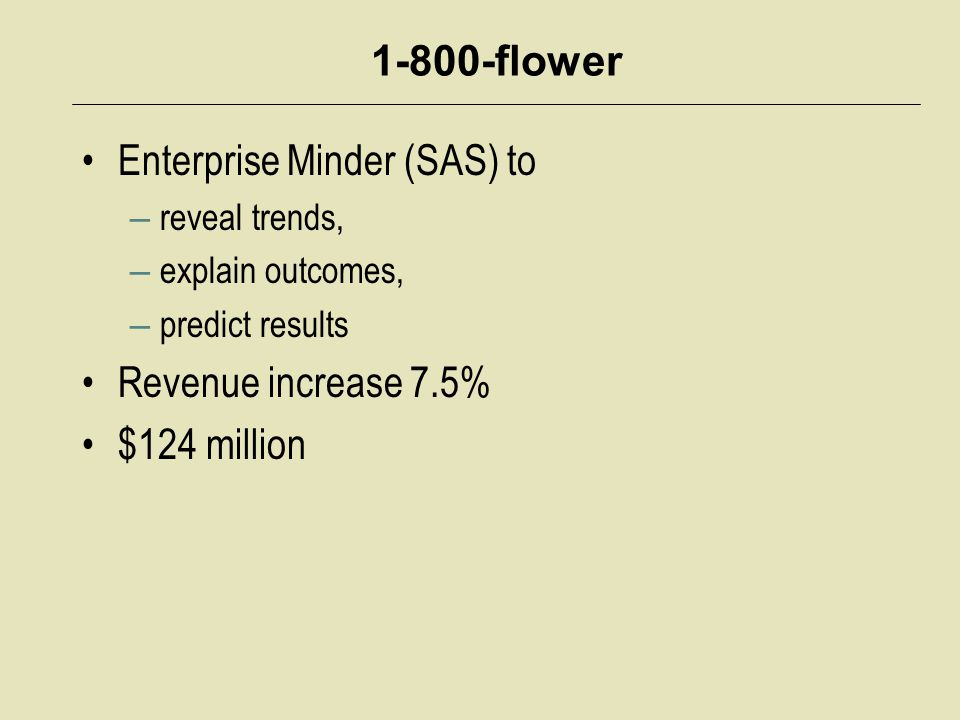 Enterprise Minder (SAS) to